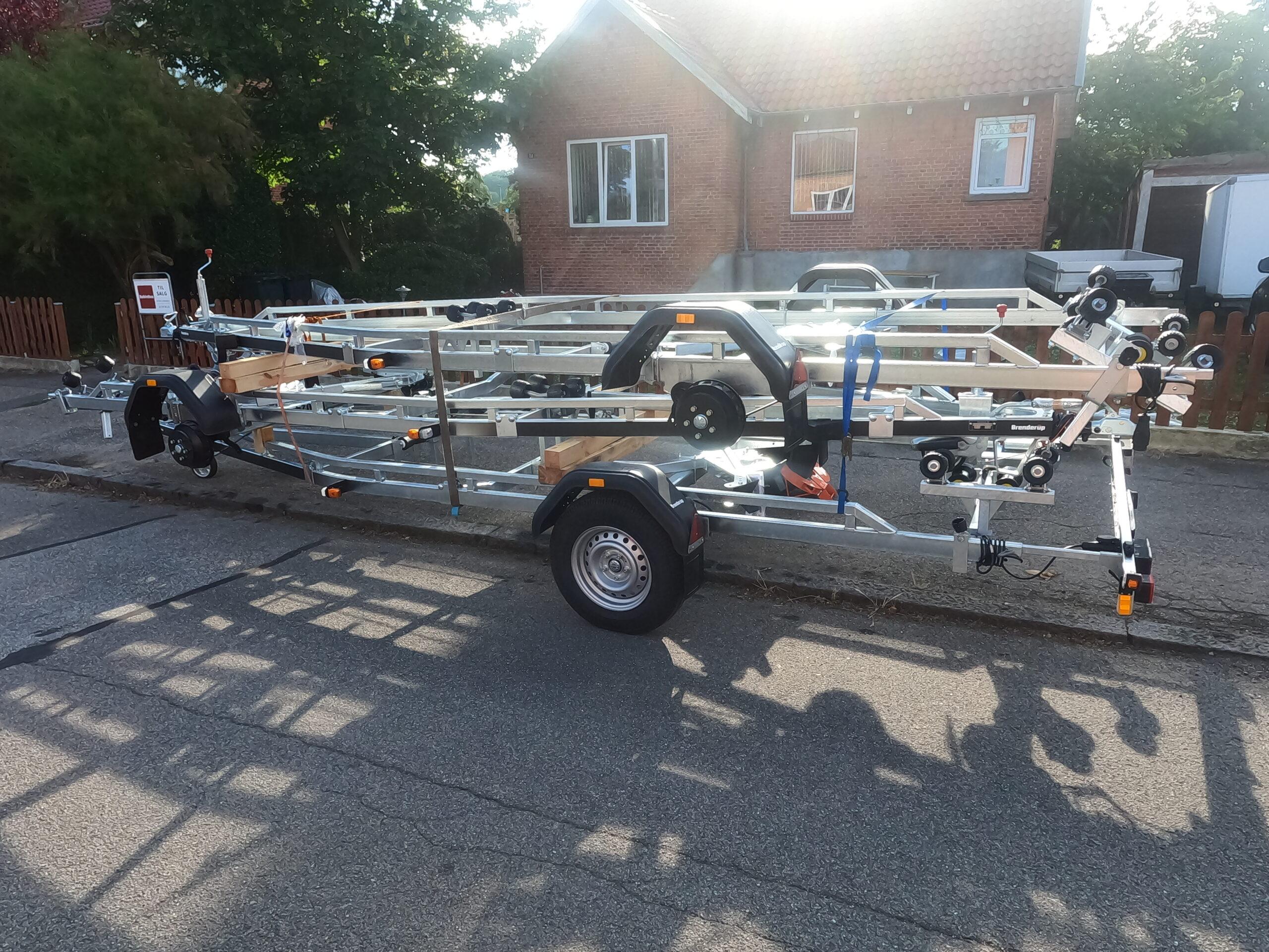 Brenderup bådtrailer 1800 kg