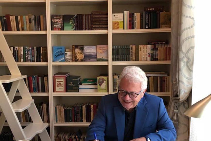 Гостем Центра творчества Максуда Ибрагимбекова стал посол Греции