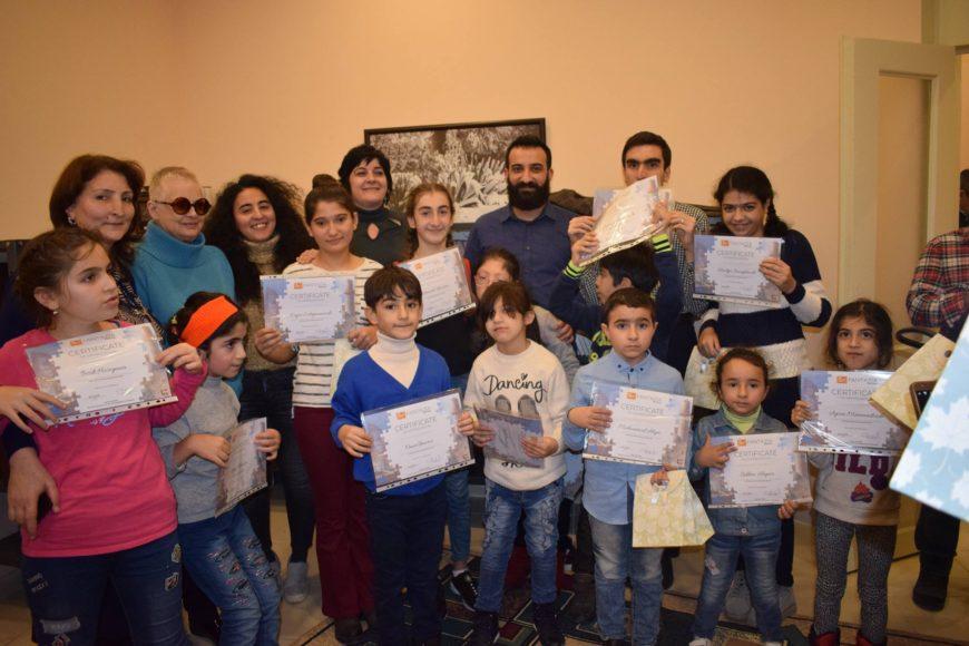 В Центре Максуда Ибрагимбекова состоялось мероприятие для детей