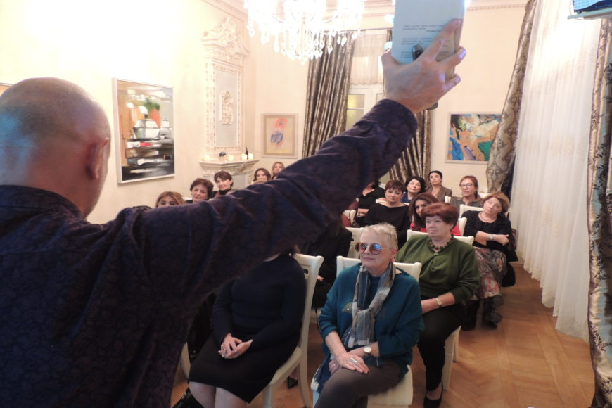«Тайны Баку. Старый Баку в историях любви», лекция Фуада Ахундова.