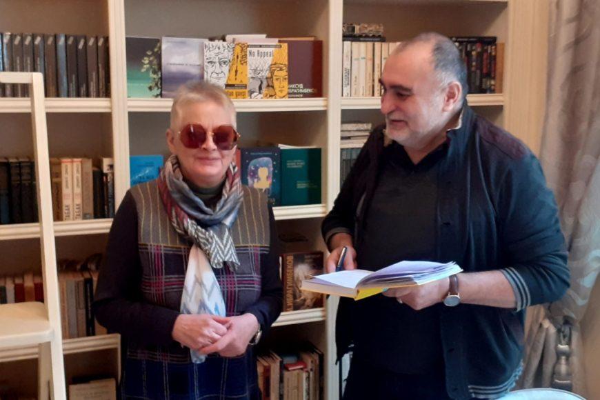 Интервью Анны ханум «Литературной газете»