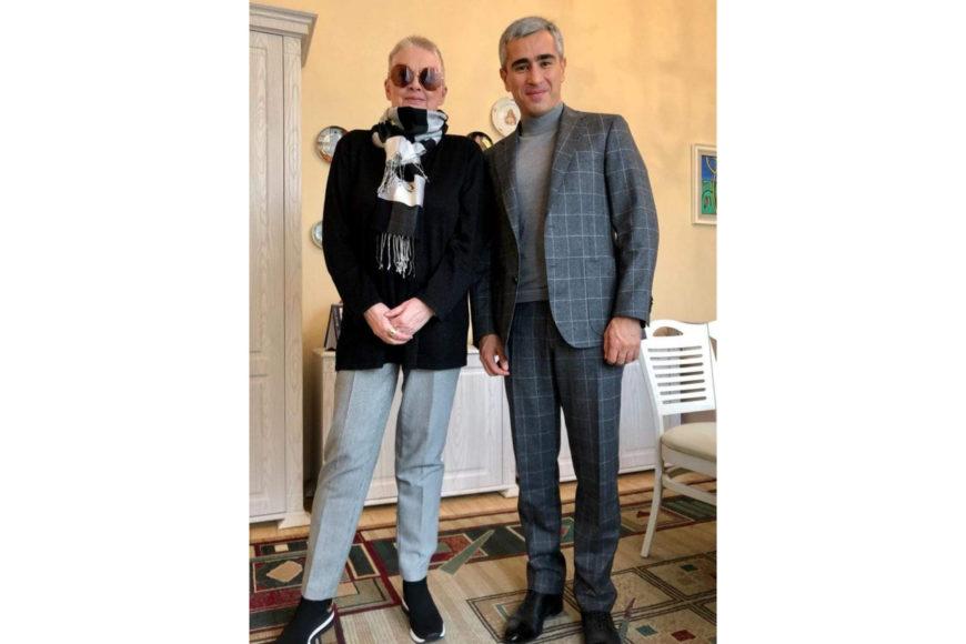 В гостях у Центра творчества Максуда Ибрагимбекова побывал исполнительный директор Фонда Гейдара Алиева Анар Алекперов