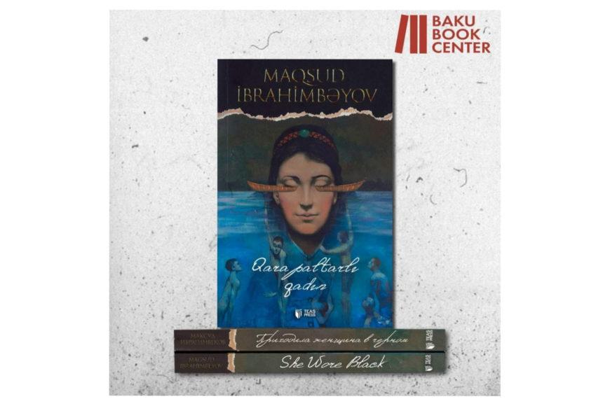 """""""Qara paltarlı qadın"""" Baku Book Center"""