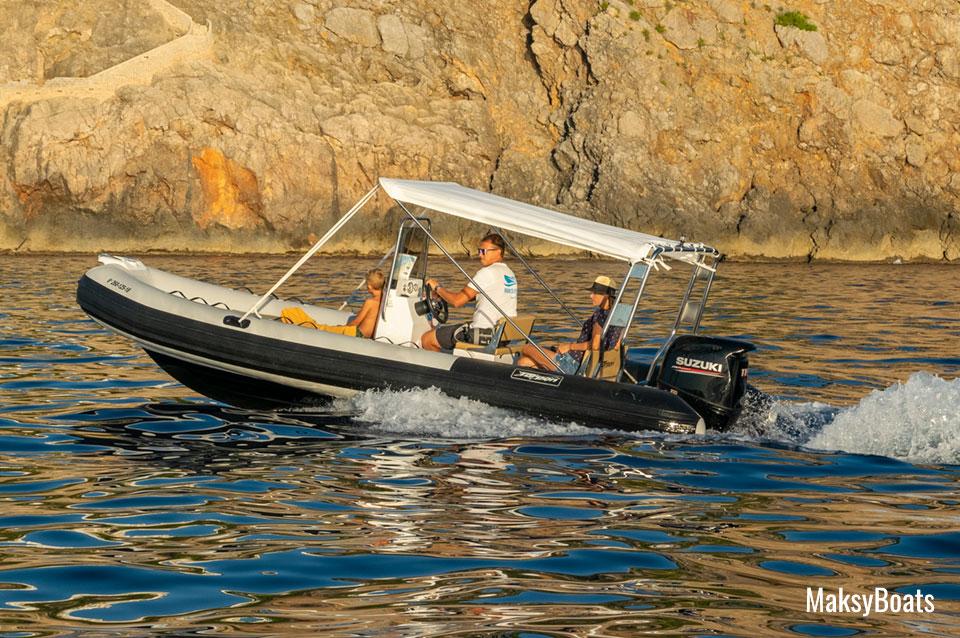 Alquiler de barcos con licencia Port de Sóller, Tarpon 590 LX