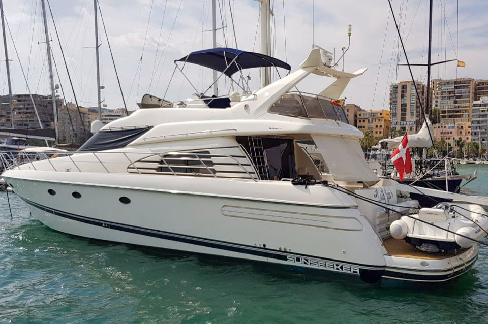 Sunseeker Manhattan 62 for sale in Mallorca