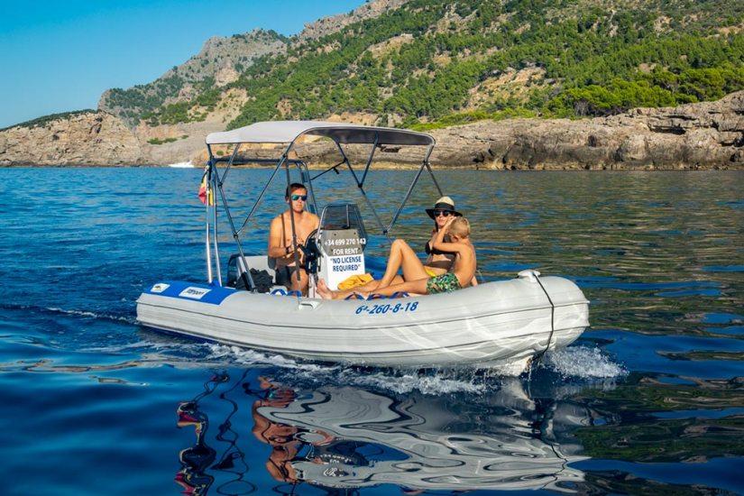 MaksyBoats, alquiler de barcos en Mallorca, Port de Sóller