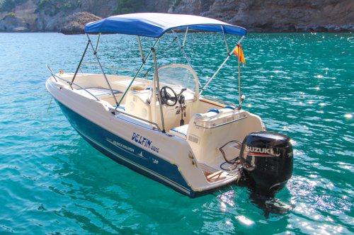 Boat Rental Port Soller Quicksilver 500
