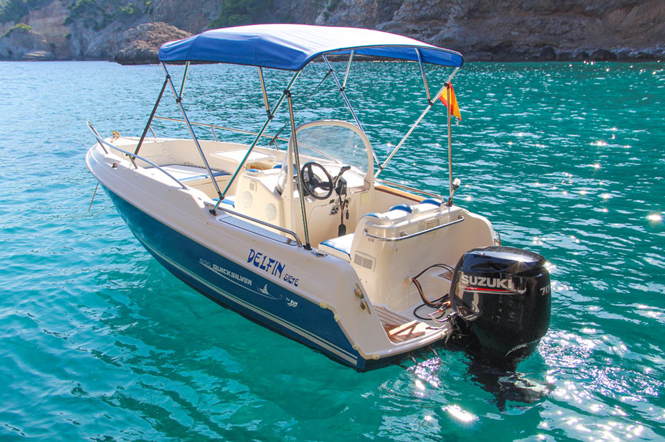Boat Rental Port Soller Quicksilver 500