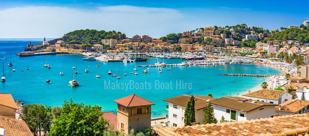 Port de Sóller, Mallorca, Maksyboats boat hire