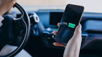 إطالة عمر بطارية هاتف OnePlus 8