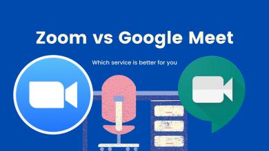 تميز Google Meet عن Zoom