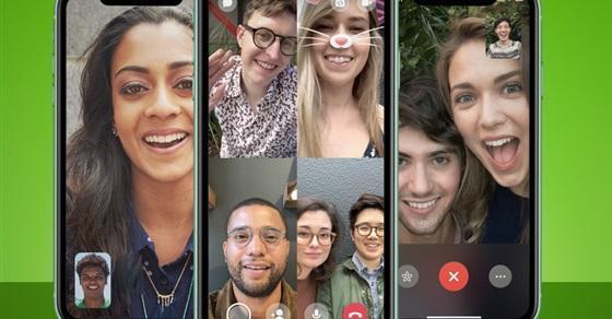 إجراء مكالمات فيديو مع 50 شخص