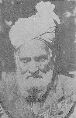 A photo purported by the Shaykh's family members to be of Hazrat Pir Fazal Ali Qureshi.
