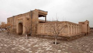 The tomb complex of Khwaja Arif Riwgari