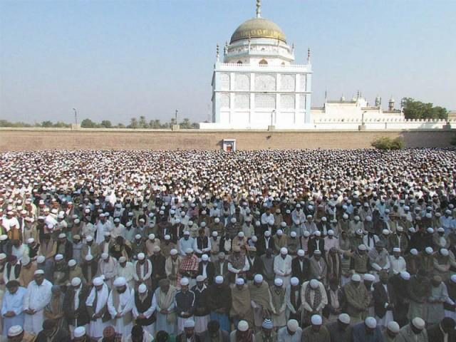 Tomb of Sayyid Muhammad Rashid Qadri Naqshbandi Sindhi, at Pir-Jo-Goth, Sindh, Pakistan