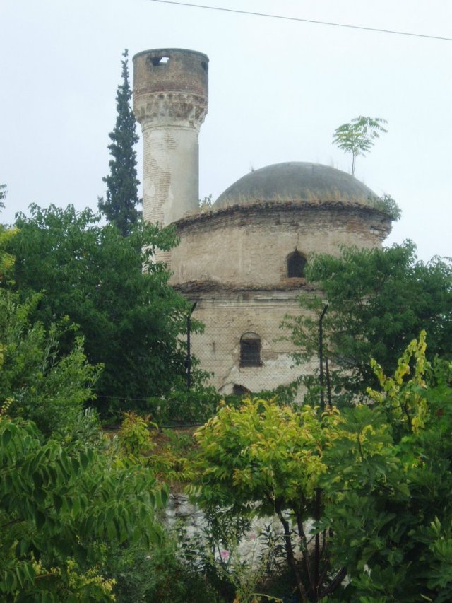 Remains of the mosque established by Khwāja ʿAbdu'llāh Ilāhī, in Giannitsa, Greece