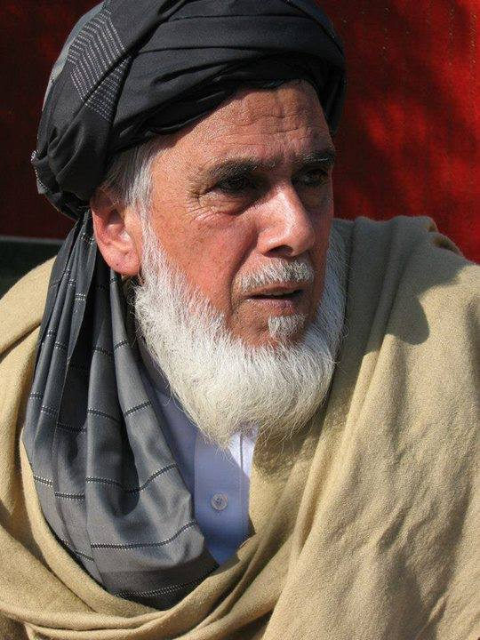Pīr Ahmad Hasan Siwāg, present shaykh at the khānqāh.
