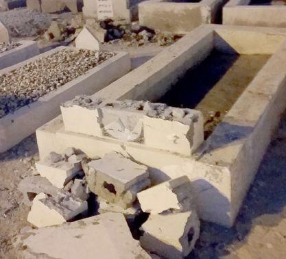 Noble grave of Shaykh Hijazi, destroyed by ignorant Wahhabi extremists