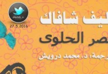 Photo of رواية قصر الحلوى إليف شافاق PDF