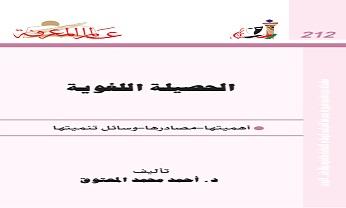 Photo of كتاب الحصيلة اللغوية أهميتها مصادرها وسائل تنميتها أحمد محمد المعتوق PDF