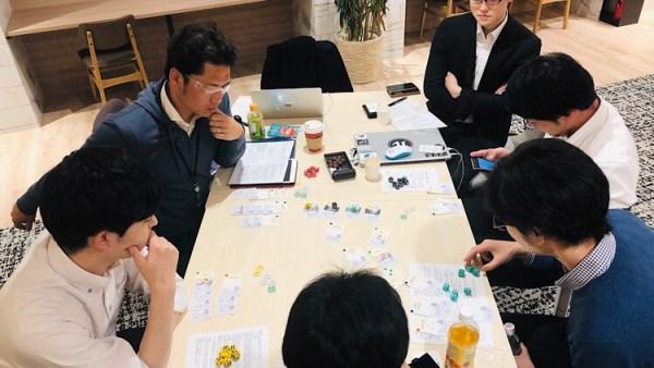 第2回テストプレイ🎲引き続き開発中!<BR>ゲーミフィクションプロジェクト「拡大再生産ゲーム」🤖