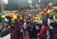 PICTURES: Amazing crowd outside the court supporting #FreePastorEvan #ZimShutDown2016