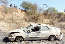 3 BRIDESMAIDS CHEAT DEATH IN BULAWAYO