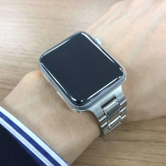 Apple WatchのHyperLink316Lステンレススチールバンド