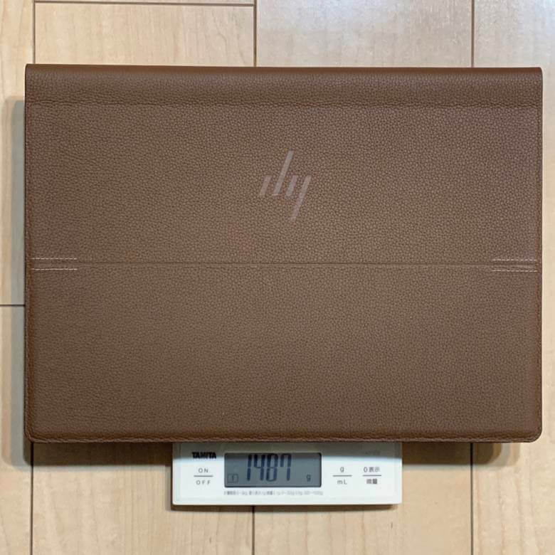 HP Spectre Folio 13の重量