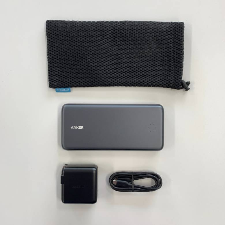 Anker PowerCore+ 19000 PDの付属品