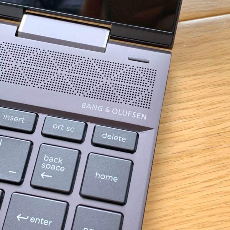 HP ENVY x360 13のスピーカーは高級オーディオメーカーBang & Olufsen共同開発