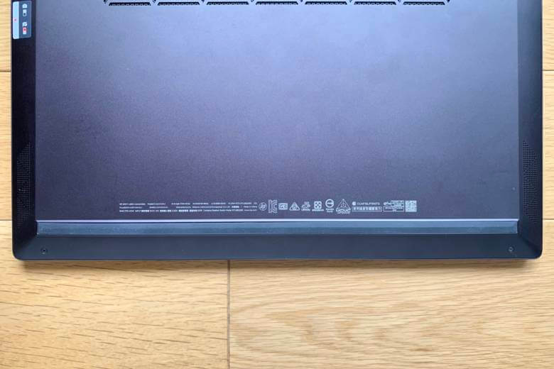 HP ENVY x360 13のスピーカーは計4機のクアッドスピーカー