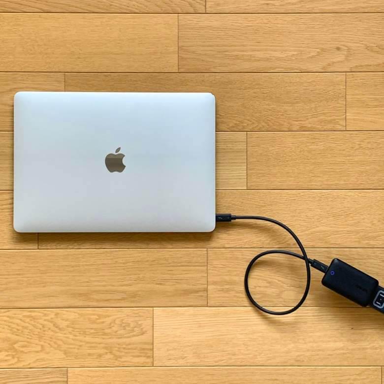 Anker PowerPort Atom III SlimはMacBook Airや一部のノートPCも急速充電できる