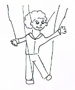 Die Marionnette ist ein Konzentrationsspiel für Senioren.