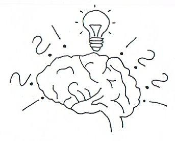 Ein Gehirn symbolisiert das ganzheitliche Gedächtnistraining.