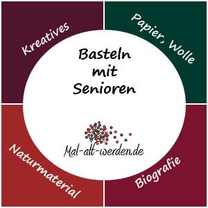 Basteln mit Senioren Ideen und Anregungen