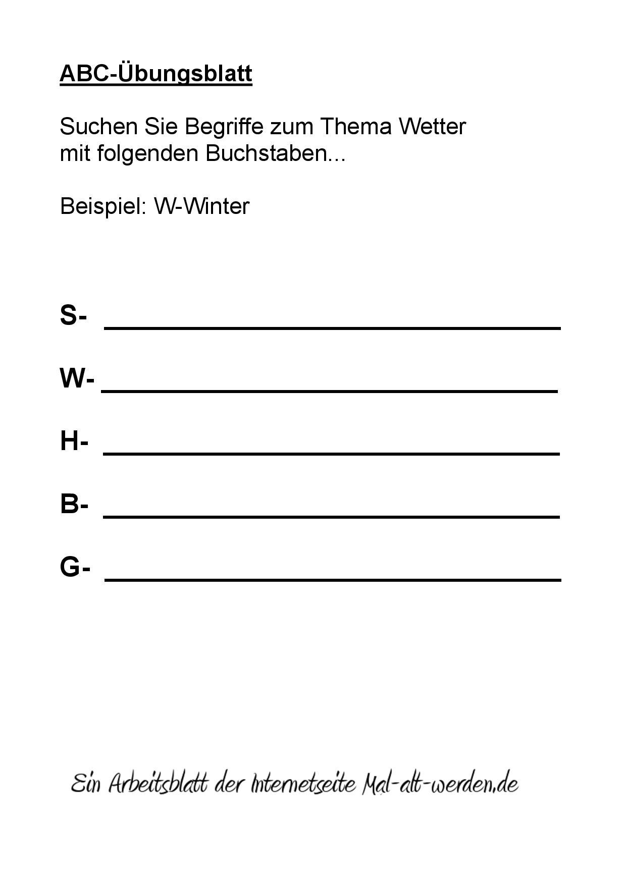 Enchanting Arbeitsblätter Auf Thema Illustration - Kindergarten ...