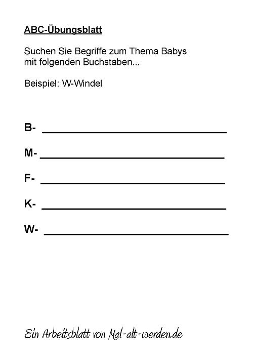 abc-arbeitsblatt-babys