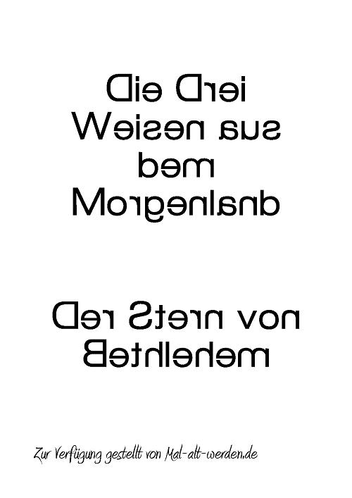 heilige drei koenige-spiegelschrift
