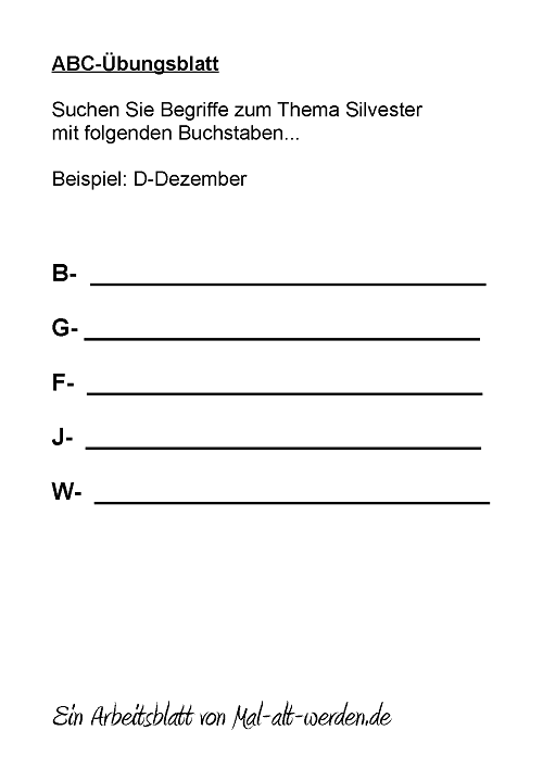 abc-arbeitsblatt-silvester