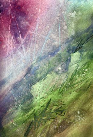 aquarell gräser