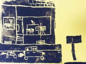 Styrene, Helene, mal-atelier, Galerie TRIGON 2015