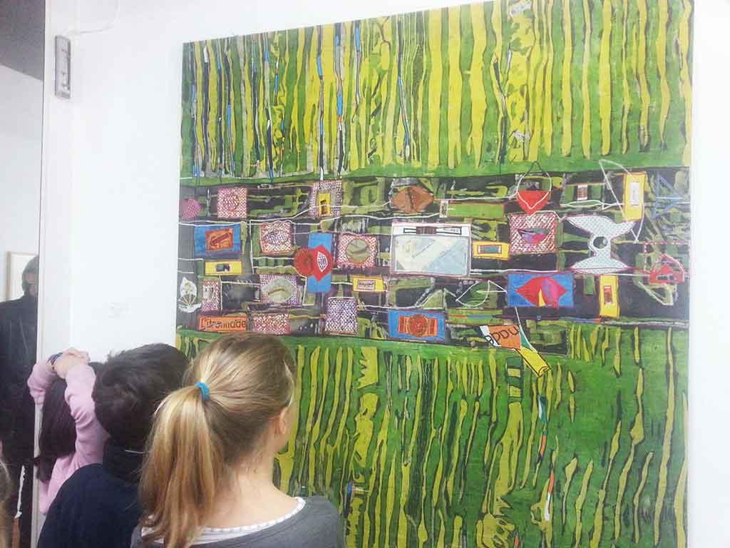 Textilart, Mechthild Feuchtinger, Galerie TRIGON 2015