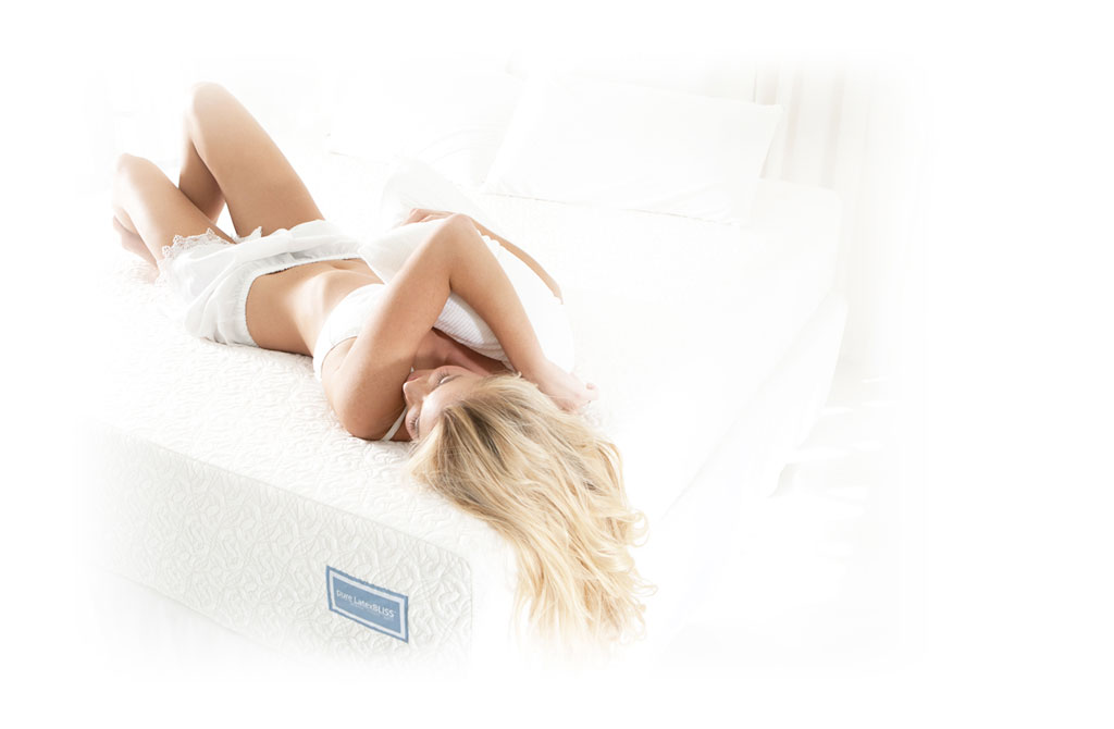 Pure latex mattress