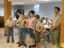 Barefoot Boy Scouts