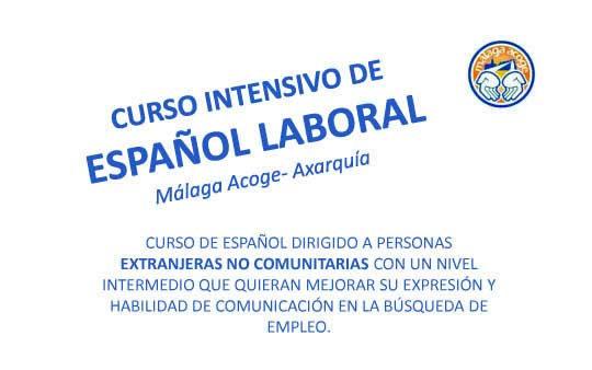 Curso intensivo de español laboral en la Axarquía