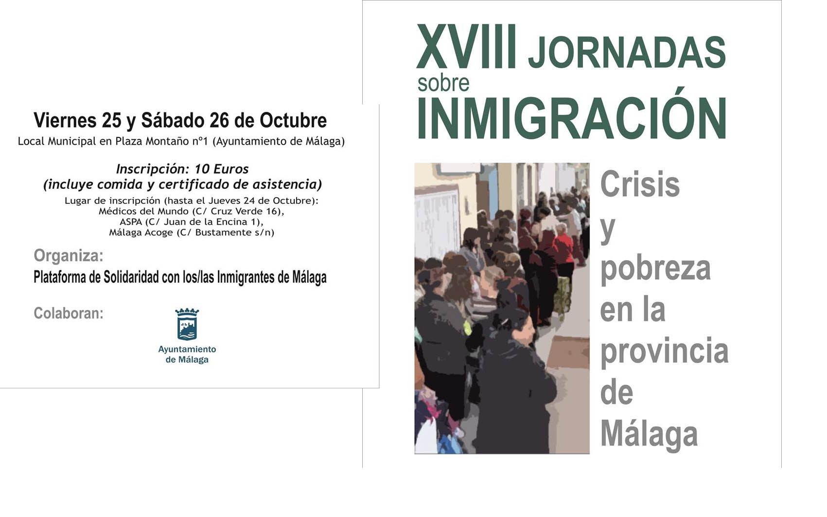 XVIII Jornadas sobre Inmigración