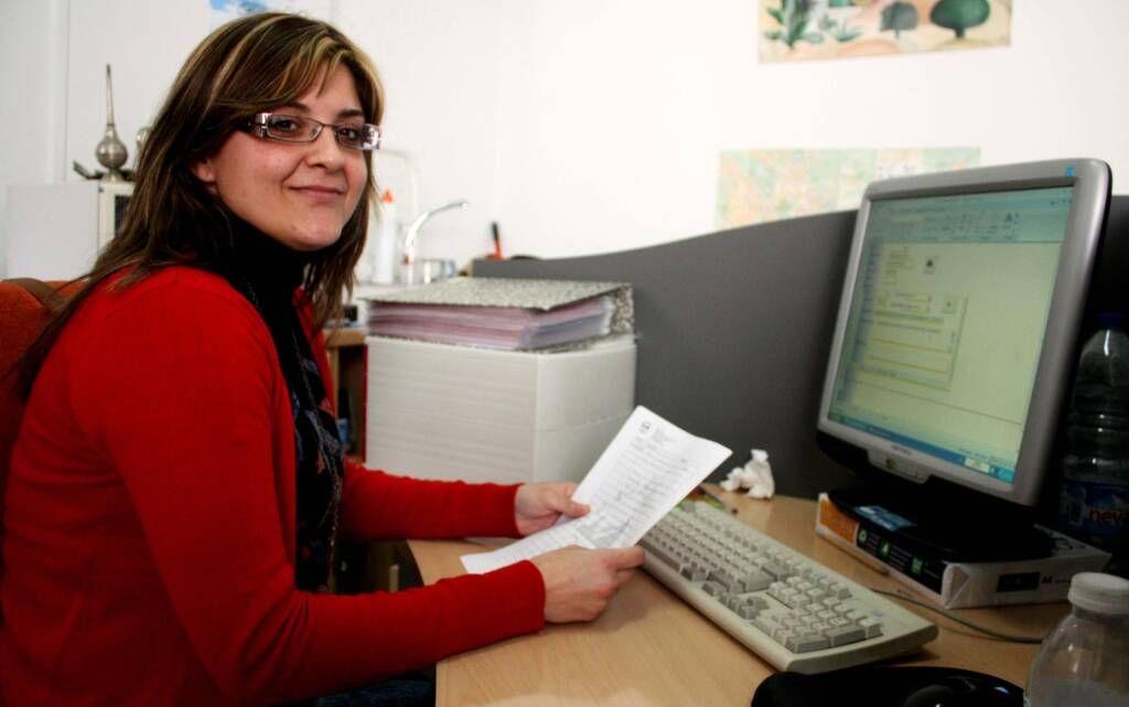 Sara Reina, voluntaria del Área Social