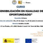 Curso de 'Sensibilización en igualdad de oportunidades' en la Axarquía