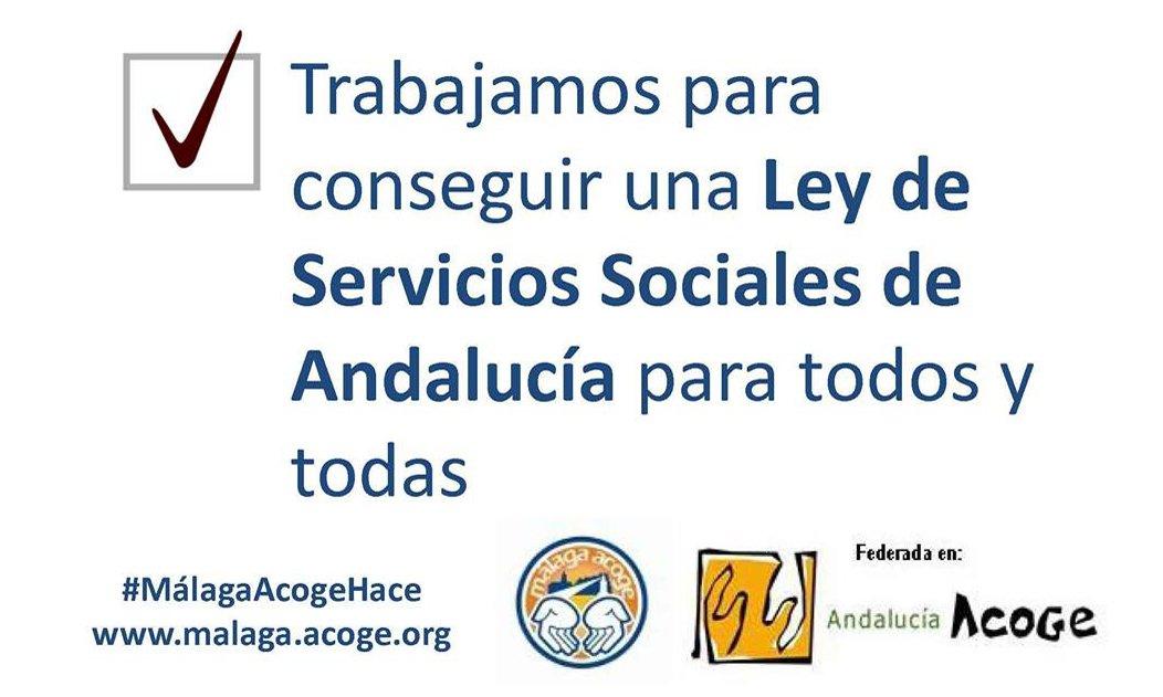 Por fin una ley de servicios sociales para todas y todos